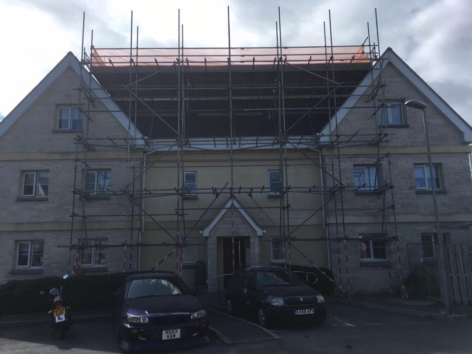 Refurbishment Scaffolding Contractors Bridport - ADK Scaffolding Ltd