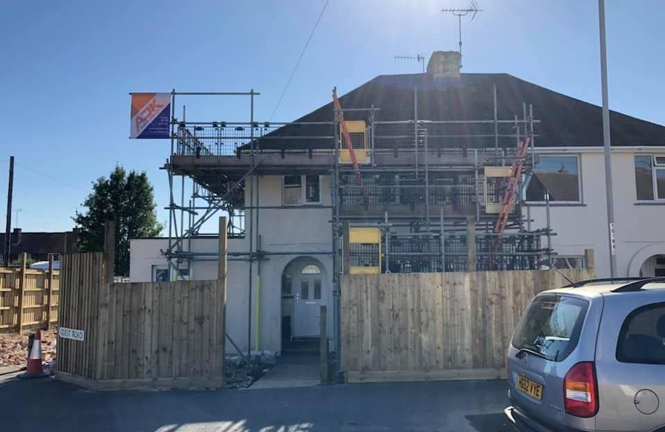 Residential Scaffolds - ADK Scaffolding Ltd
