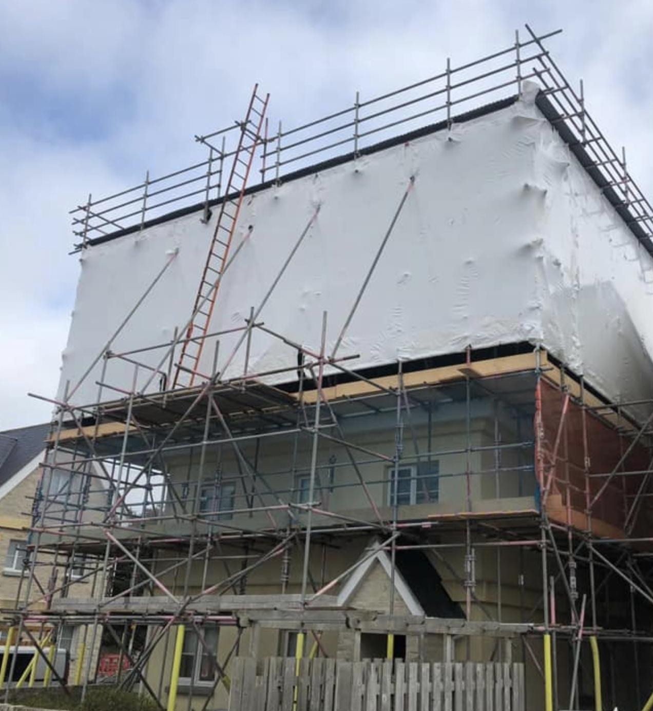 Temporary Roofs Dorset - ADK Scaffolding Ltd