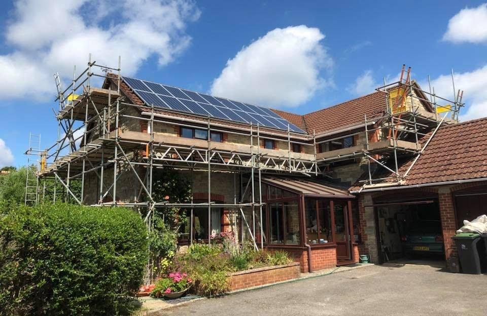 Temporary Roofs Dorset, Bridport - ADK Scaffolding Ltd