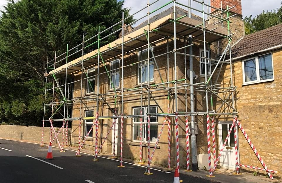 Domestic Scaffolding Dorset and Somerset - ADK Scaffolding Ltd