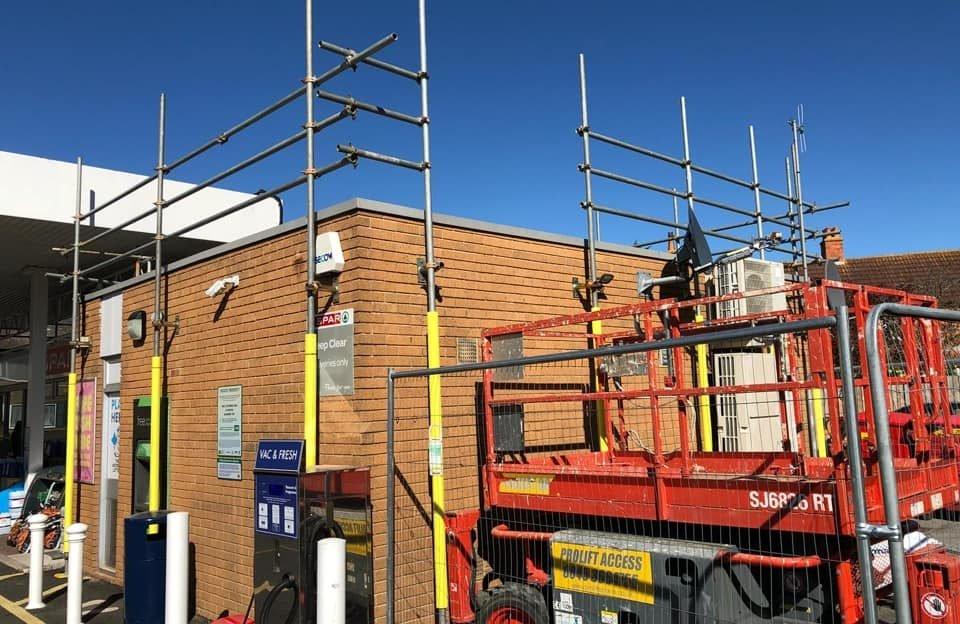 Scaffolding Contractors Bridport - ADK Scaffolding Ltd
