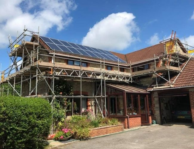 Domestic Scaffolding Dorset - ADK Scaffolding Ltd